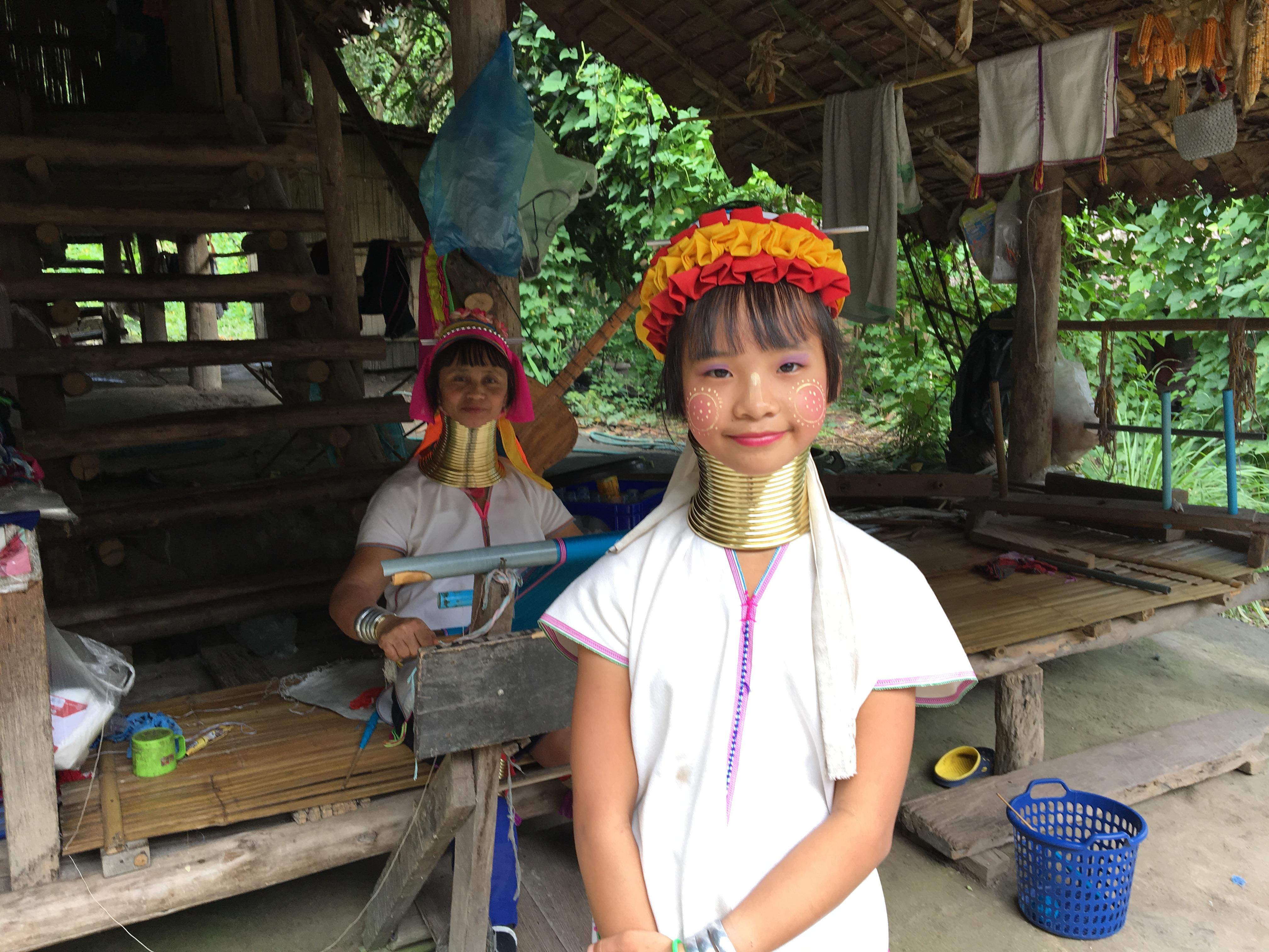 タイ北部チェンマイへ!~首長族の村へ!!!~